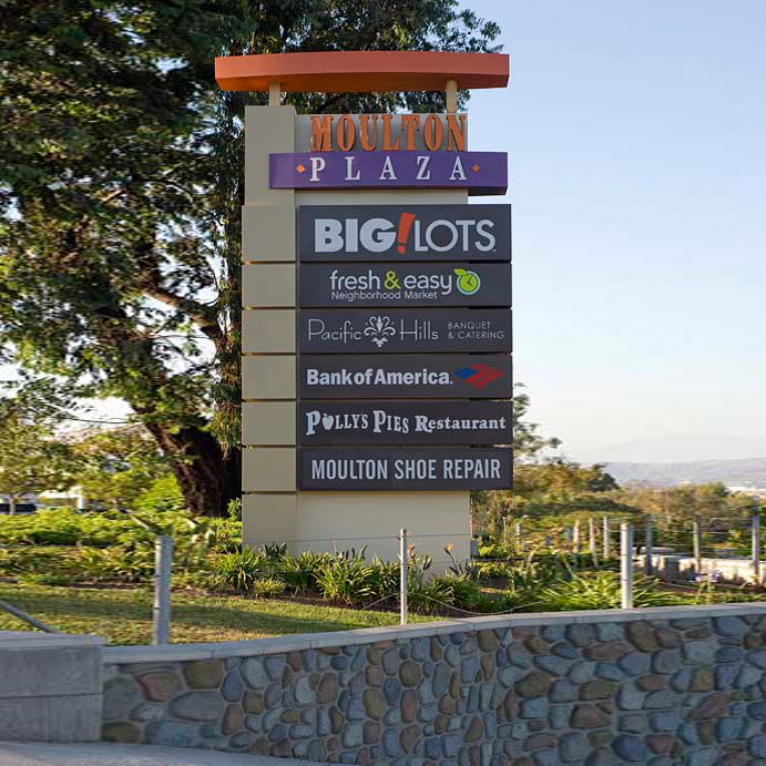 Town Centers Inland Signs