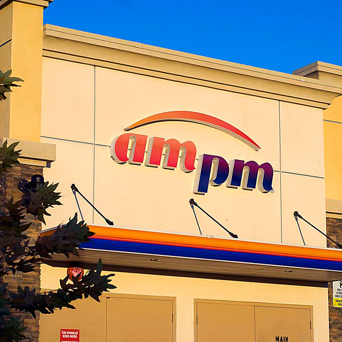 AMPM Channel Letter Signs
